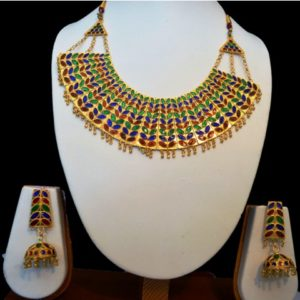 Ethnic Dhansira Necklace