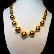 Ethnic Ball Necklace