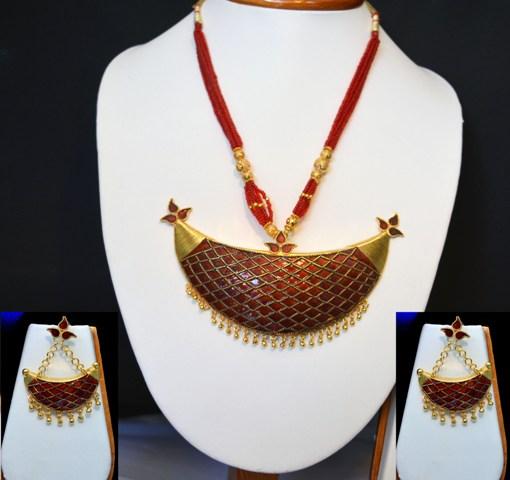 Ethnic Junbiri Necklace
