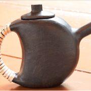 Buy online Premium Black Tea Pot-Black Pottery