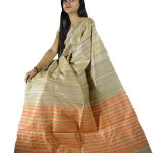 Ghisa Silk Mekhela Chador