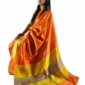 Ghisa Silk Mekhela Sador