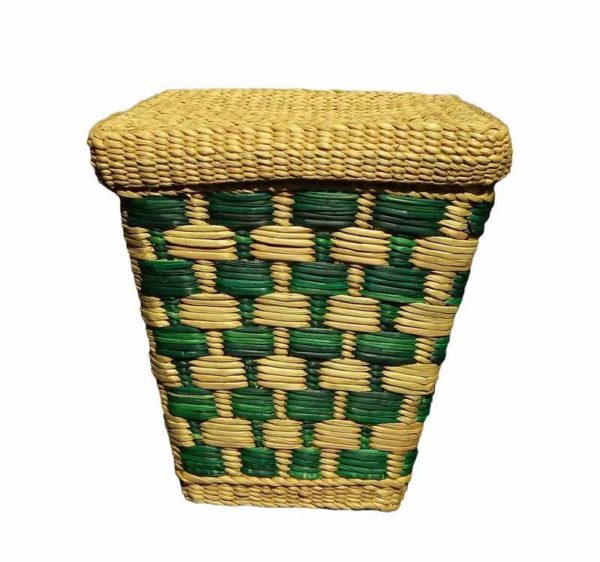 Eco friendly Water Reed Green Multi Purpose Basket1