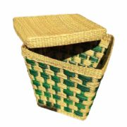 Eco friendly Water Reed Green Multi Purpose Basket2