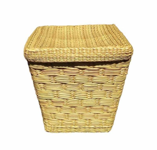 Eco friendly Water Reed Red Multi Purpose Basket raw color1