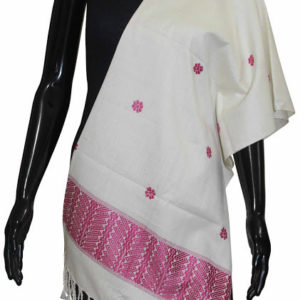 Buy 100% Pure Handmade Ethnic Designer Silk Shawl