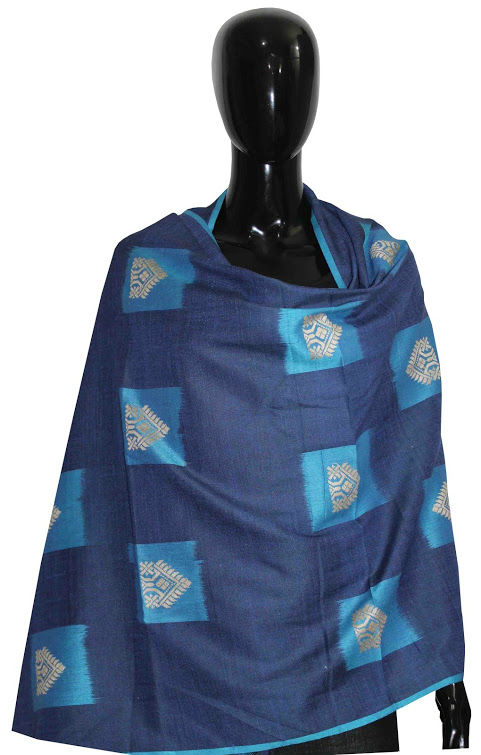 Buy Stylish Handwoven Silk Shawl